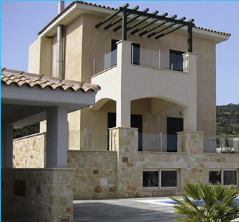 Luxury villa in the fishing village of Latchi, Paphos.